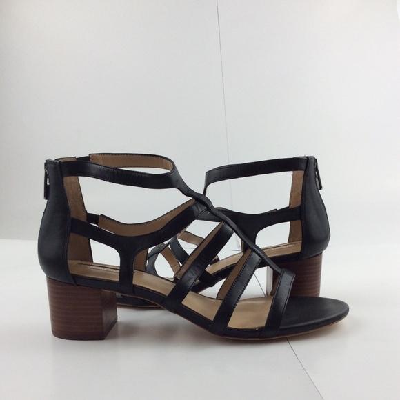 c8134c3a24ca Antonio Melani Women s Cage Block Heel Sandals
